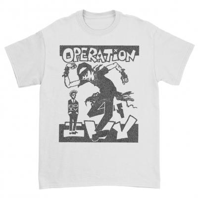 Skankin White | T-Shirt