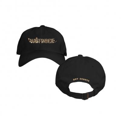 Wayfinder Black | Dad Hat