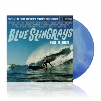 Surf-N-Burn | Blue Dream Splash Vinyl