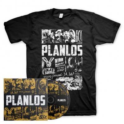 Planlos | Signed CD+T-Shirt Bundle