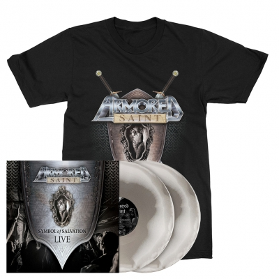 Symbol of Salvation Live | 2xSilver/White Vinyl Bundle