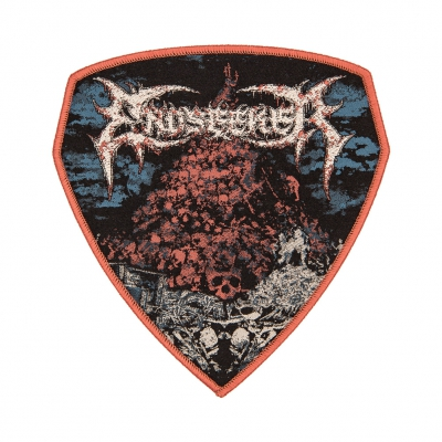 Mount Carcass Red | Woven Patch
