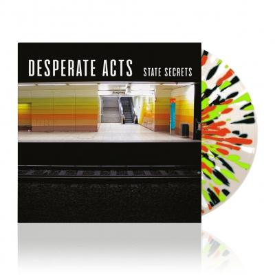 State Secrets | Clear w/ Splatter Vinyl