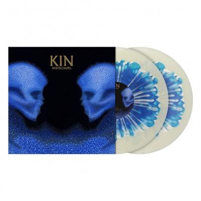 Kin | Clear w/Blue/White Blob Splatter Vinyl