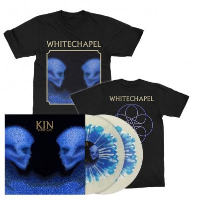 Kin | Clear w/Blue/White Blob Splatter Vinyl Bundle