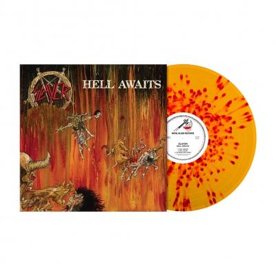 Hell Awaits | Orange/Red Splatter Vinyl