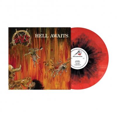 Hell Awaits | Red/Yellow/Black Circle Splatter Vin
