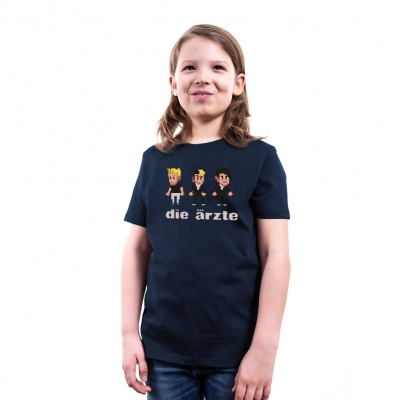 Pixel Navy | Kinder Shirt