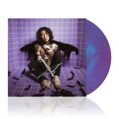 ERROR BOY | Purple Blue Galaxy Vinyl