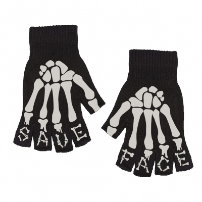 Skeleton | Fingerless Gloves