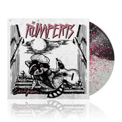 Escapism | White Black w/ Pink Dots Vinyl