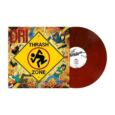 Thrash Zone | Maroon Marbled Vinyl