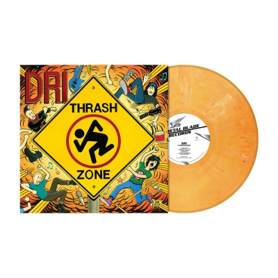 Thrash Zone | Tangerine Marbled Vinyl