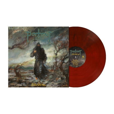 At One With None | Red/Black Marbled Vinyl