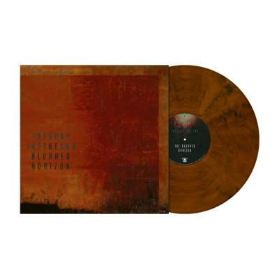 The Blurred Horizon | Orange-Brown/Black Marbled V