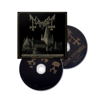 De Mysteriis Dom Sathanas Alive | CD/DVD