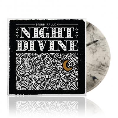 Night Divine | Natural Black Swirl Vinyl