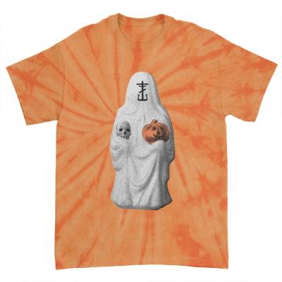 Halloween 2021 Orange Spider Dye | T-Shirt