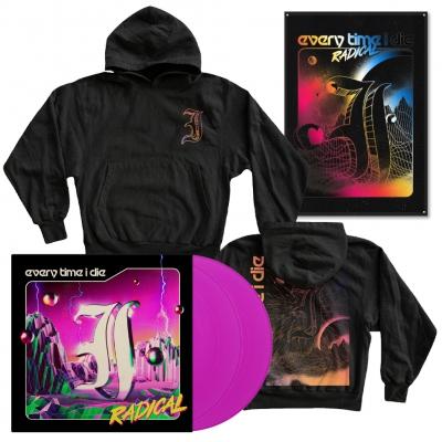 Radical | Neon Violet LP+Hoodie+Flag Bundle