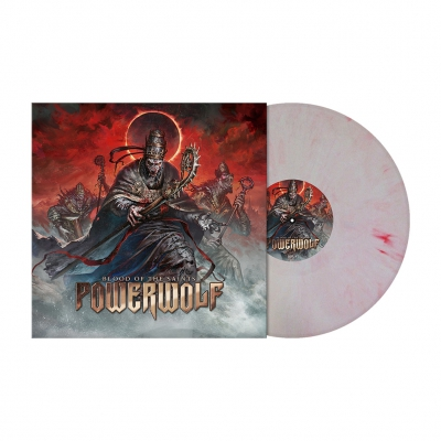 Blood Of the Saints 10th Anni. | White/Red Vinyl