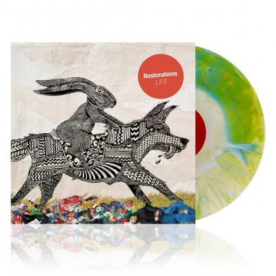 LP3 | Blue/Yellow/White Starburst Vinyl