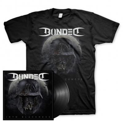 Into Blackness | 180g Black Vinyl+T-Shirt Bundle