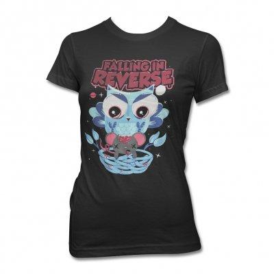 Falling In Reverse - Ainme Owl Tee - Women's