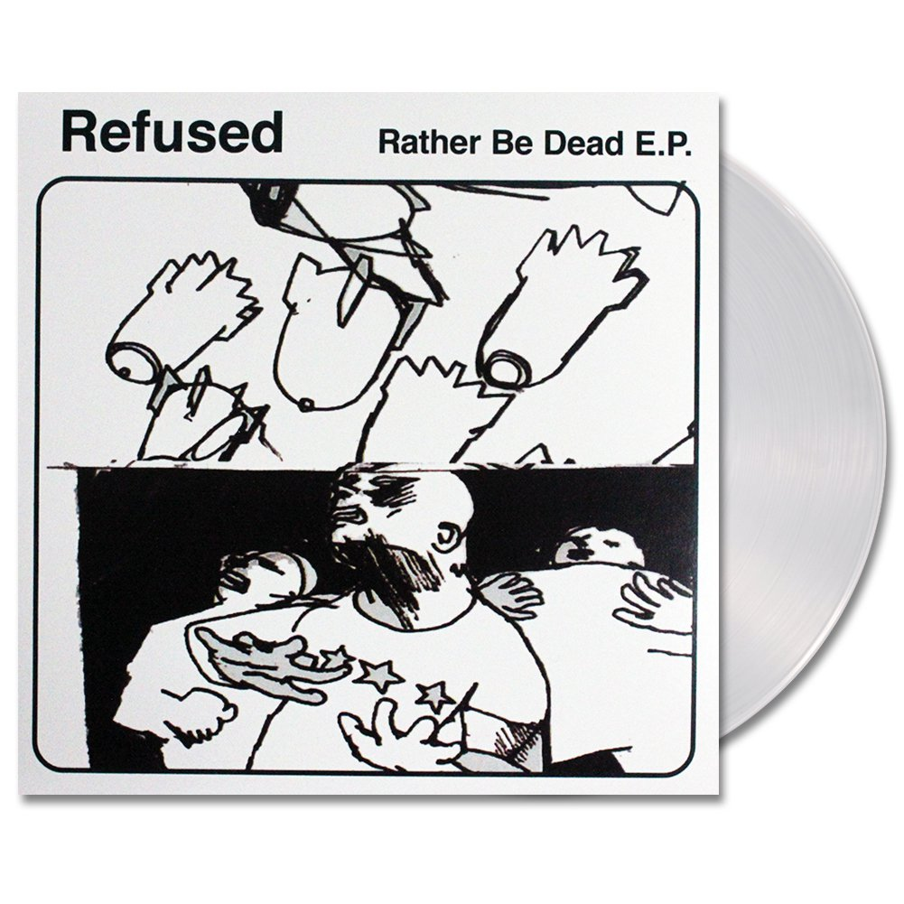 Rather Be Dead EP - (Clear)