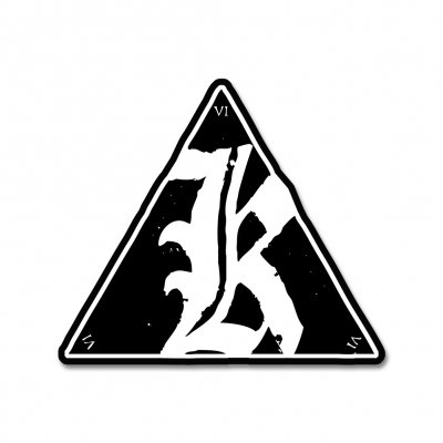 kvelertak - Triangle Logo Sticker