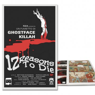 12 Reasons To Die - 12 Reasons To Die Issue 1 - Limited Suspiria Cover
