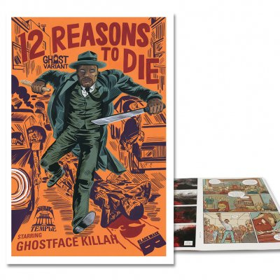 12 Reasons To Die - 12 Reasons To Die Issue #1 - Ghost Variant Cover
