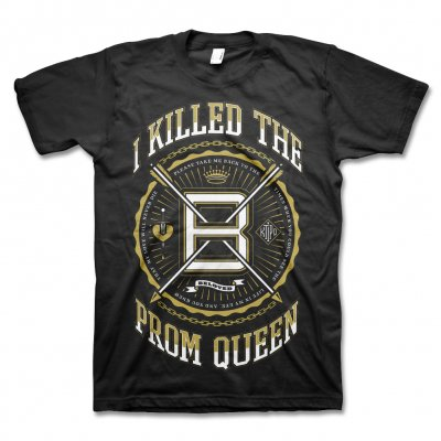 i-killed-the-prom-queen - Streets T-Shirt (Black)