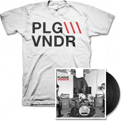 plague-vendor - Free To Eat LP & PLGVNDR Tee