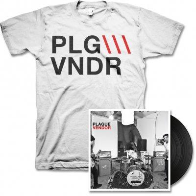 plague-vendor - Free To Eat LP & PLGVNDR Tee