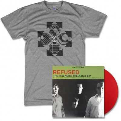 Refused - New Noise Theology - EP (Red) & Symbol Tee