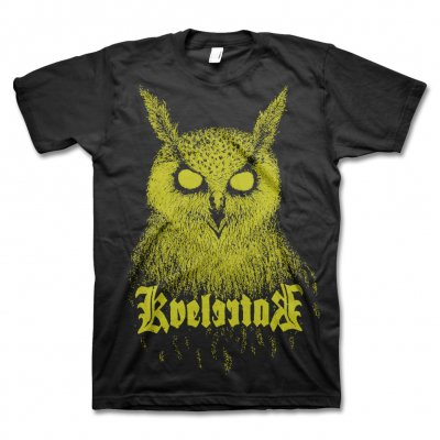 kvelertak - Bartlett Owl T-Shirt (Yellow)