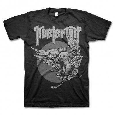 Kvelertak - Owl King T-Shirt (Metallic Silver)