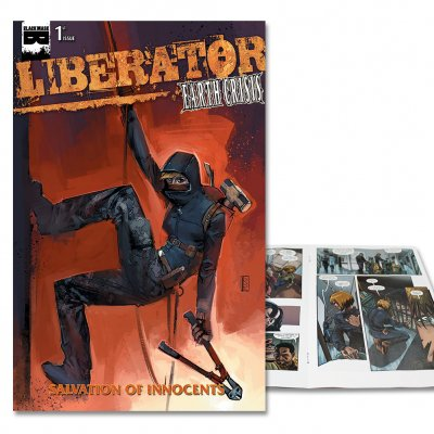 Liberator - Liberator: Salvation Of Innocent -Issue 1 Cover B