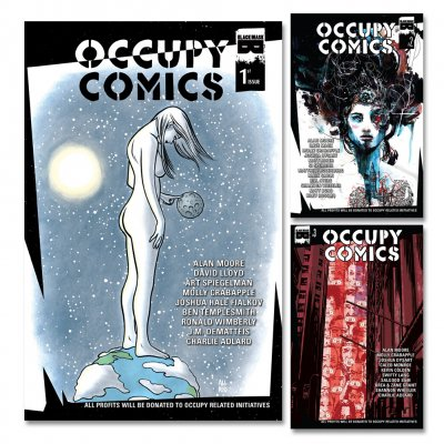 Occupy Comics - Occupy Comics Subscription: Issues 1-3