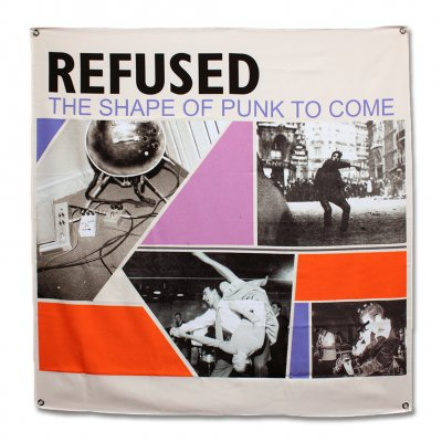 Refused - Shape Of Punk To Come Flag (48 In)