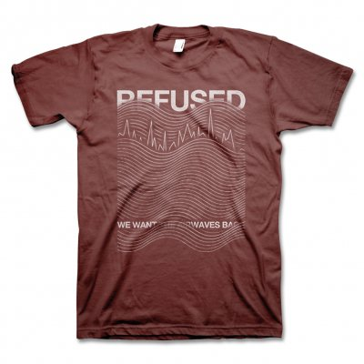 Refused - Airwaves T-Shirt (Cranberry)