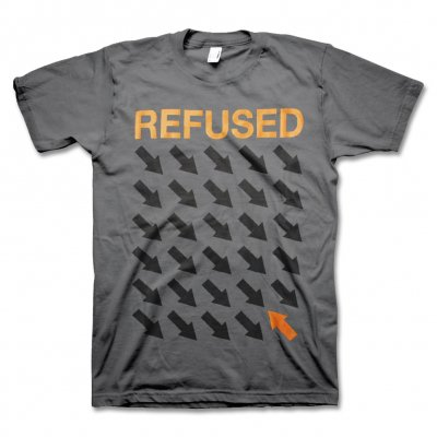 Refused - Arrows Tee (Grey)