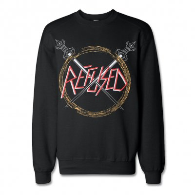 Refused - Slayed Crewneck Sweatshirt (Black)