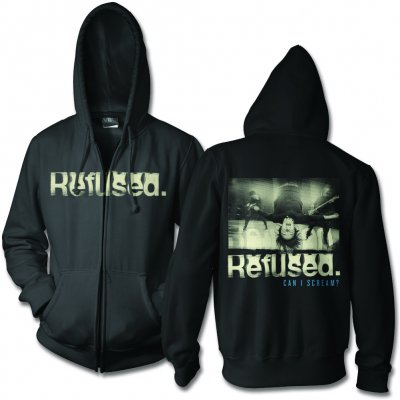 Refused - Can I Scream - Zip Up Hoodie