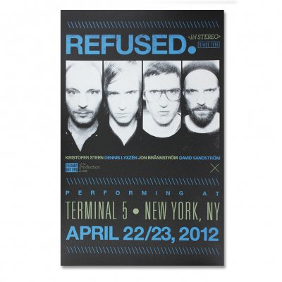 Refused - New York Show Print