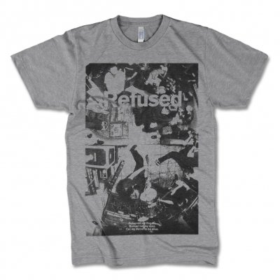 Refused - Live Photo Tee (Grey)