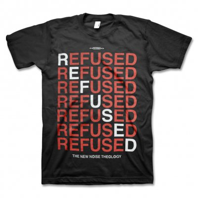 Refused - New Noise Red T-Shirt (Black)