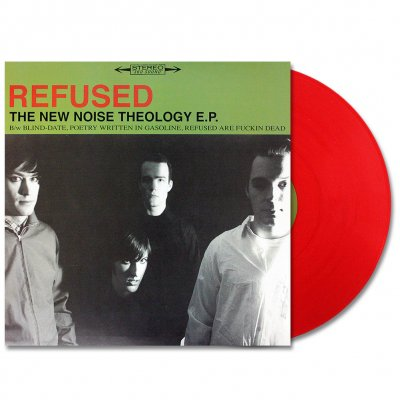 Refused - The New Noise Theology E.P. (Transparent Red)