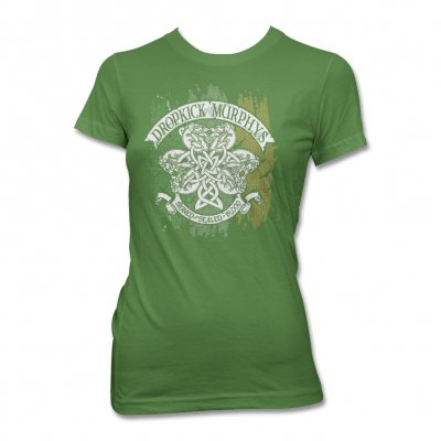 dropkick-murphys - Knotwork Flag Tee - Women's