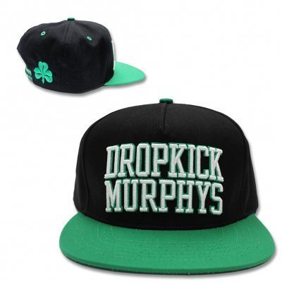dropkick-murphys - Embroidered Raised Logo Snapback